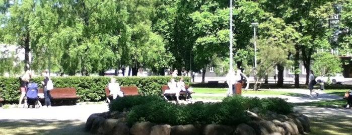Lembitu park is one of Ольга'ın Beğendiği Mekanlar.