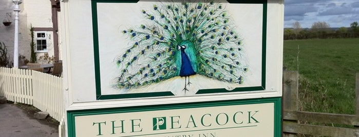 The Peacock Country Inn is one of Carl 님이 좋아한 장소.