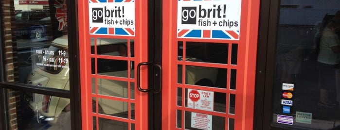 go brit! fish + chips is one of Rehobeth.