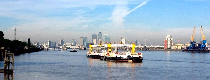 Woolwich Ferry is one of Tired of London, Tired of Life (Jul-Dec).