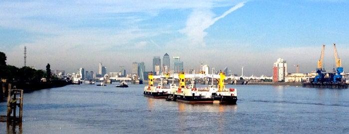 Woolwich Ferry is one of Tempat yang Disimpan Michael.