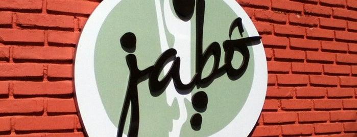 Jabô is one of Feitos, realizados, experimentados, done.