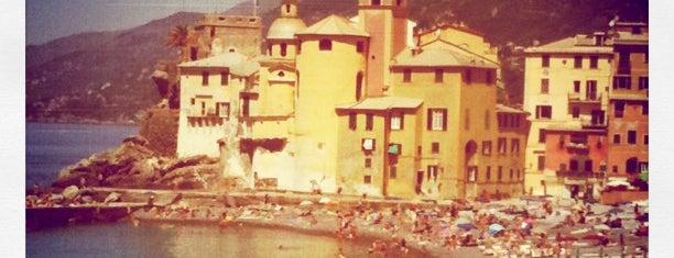 Spiaggia di Camogli is one of √ Best Free-Beaches in Liguria.