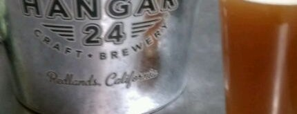 Hangar 24 Craft Brewery is one of Top 10 Local Breweries.
