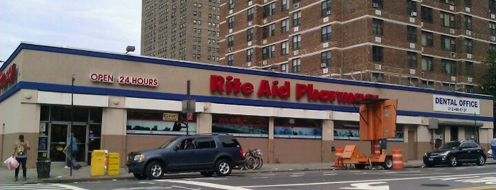 Rite Aid is one of Tempat yang Disukai James.