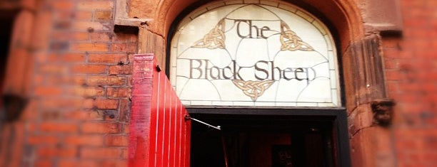 The Black Sheep Pub & Restaurant is one of Tempat yang Disukai Káren.