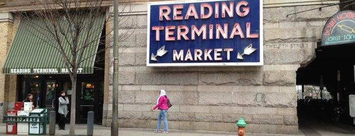 Reading Terminal Market is one of Eat, Drink & Be Philly Dining Guide!.