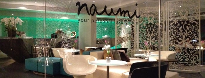 Naumi Hotel is one of Enchanting Singapore.
