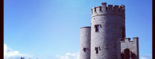 O'Brien's Tower is one of (Northern) Ireland.