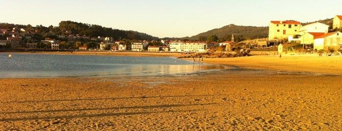 Praia de Vilariño is one of Playas de España: Galicia.