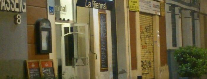La Biennal is one of barri besos mar poble nou.