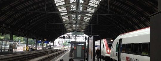Bahnhof St. Gallen is one of Orte, die Andreas gefallen.