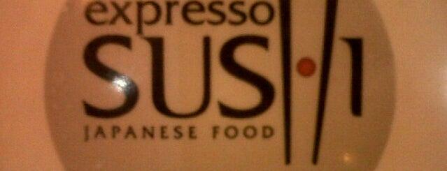 Expresso Sushi is one of Yusef'in Kaydettiği Mekanlar.