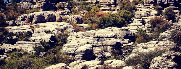 Torcal de Antequera is one of Spain places to go.