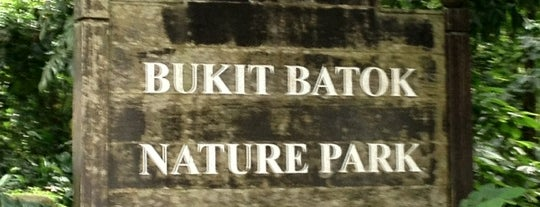 Bukit Batok Nature Park is one of Sg.