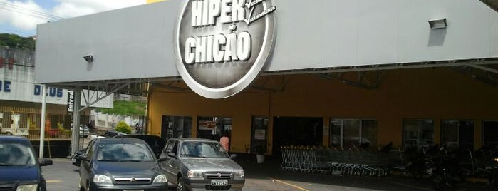 Hiper Chicão is one of Locais curtidos por Sidney.