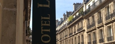 Hôtel Le Littré is one of Europe Itinerary.