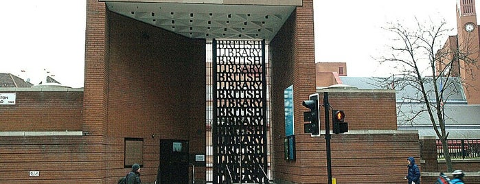 British Library is one of Londres.