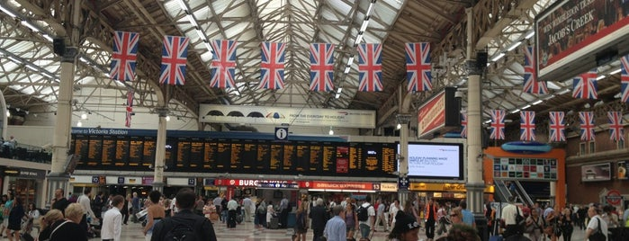 London Victoria Railway Station (VIC) is one of London 2013 Tom Jones.