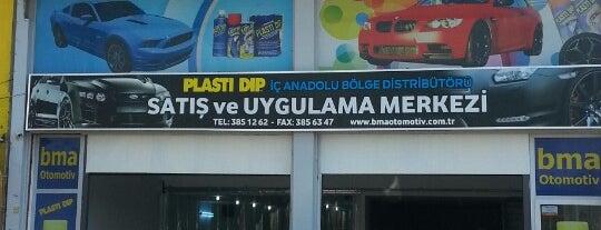 BMA Otomotiv Plasti-Dip is one of Yunusさんのお気に入りスポット.