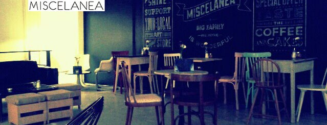 Miscelanea Gallery-Shop-Café is one of Around Paral·lel.