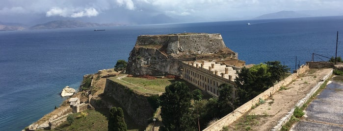 Old Fortress Of Corfu Town is one of Corfu, Greece.