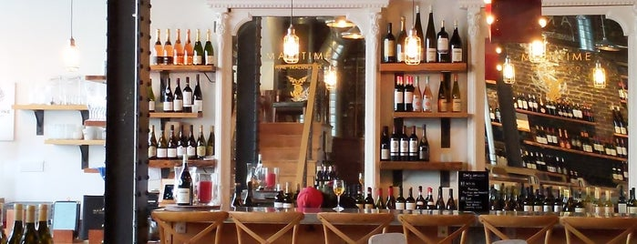 Maritime Wine Tasting Studio is one of San Fran.