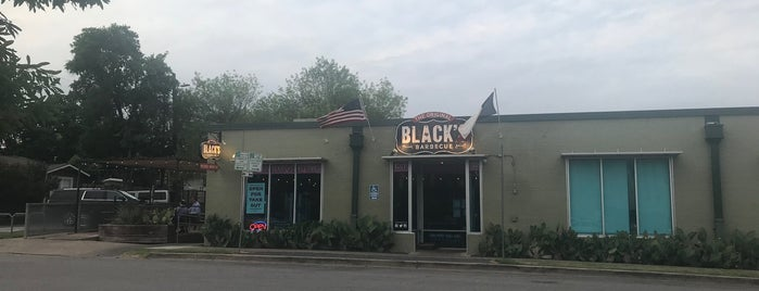 Black's BBQ is one of Lunch/Dinner dates.