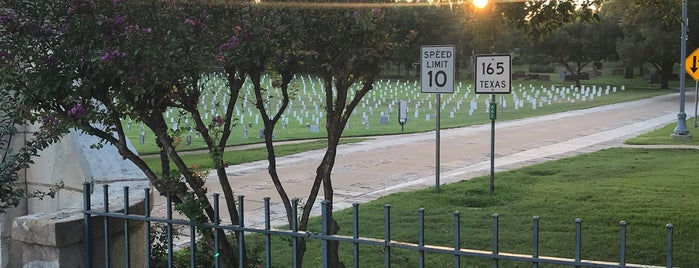 Texas State Cemetery is one of Austin Area Outdoors and Sightseeing.