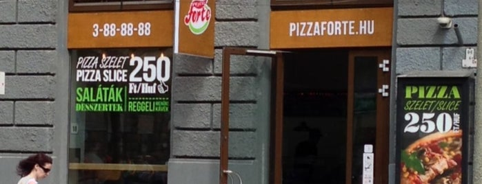 Pizza Forte is one of Where to eat? (tried and recommended places).