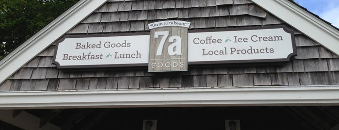 7aFoods is one of Martha's vineyard.