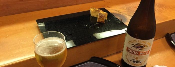 寿司 やじま is one of 東京.