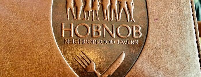 Hobnob is one of Locais curtidos por Tristan.