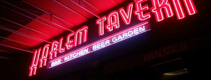 Harlem Tavern is one of NYC Beat.