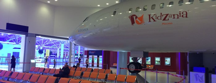 KidZania Moscow is one of Locais curtidos por Andrey.