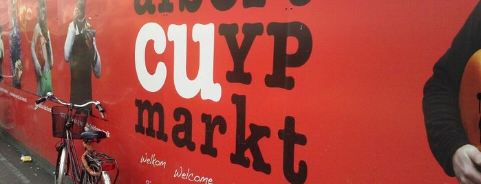 Albert Cuyp Markt is one of Amsterdam 2015.