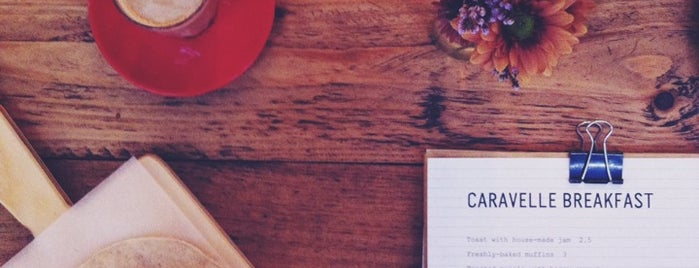 Caravelle is one of Breakfast and nice cafes in Barcelona.