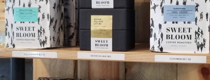 Sweet Bloom Coffee Roasters is one of Denver, CO 🌤 🏞🍺.