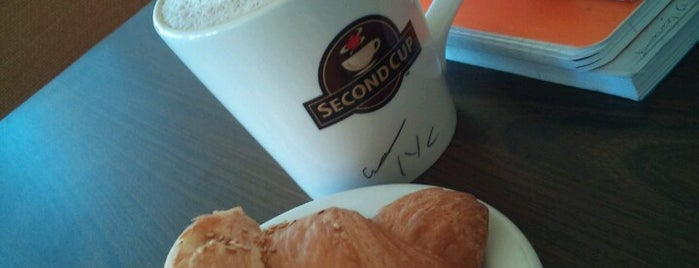Second Cup is one of สถานที่ที่ Leen ถูกใจ.