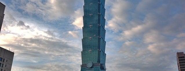 Taipei 101 is one of Jas' favorite urban sites.