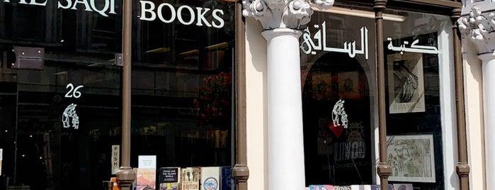 مكتبة الساقي is one of LONDON.