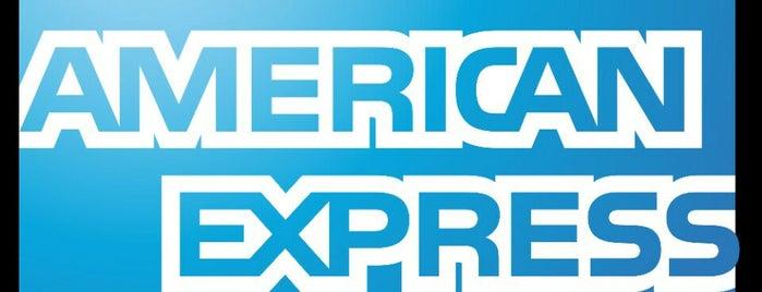 American Express is one of Agos: сохраненные места.