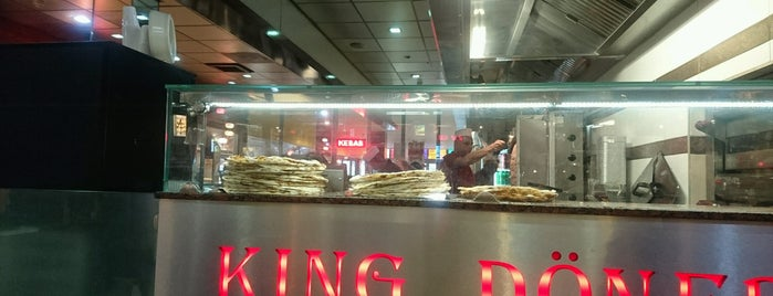 King Döner is one of Orte, die Kevin gefallen.