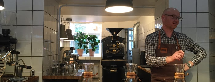 ROAST Coffee is one of Copenhagen.