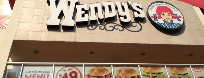Wendy's is one of Top picks for Burger Joints.