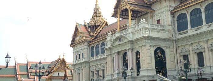 Chakri Maha Prasat Throne Hall is one of Trips / Thailand.