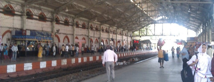 Byculla Railway Station is one of Central Line (Mumbai Suburban Railway).