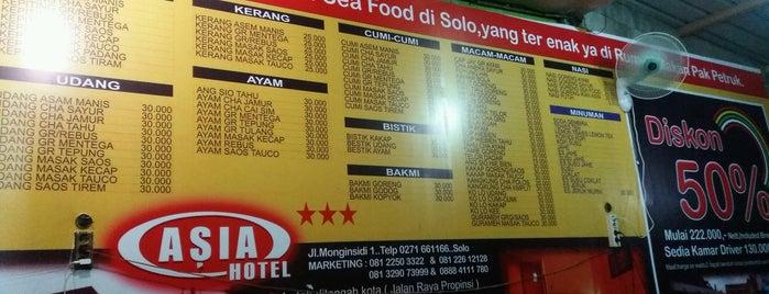 Rumah Makan Seafood Pak Petruk is one of Deviさんのお気に入りスポット.