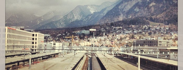 Bahnhof Chur is one of The World Outside of NYC and London.