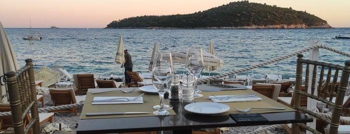 BanjeBeach Restaurant is one of Croatia.